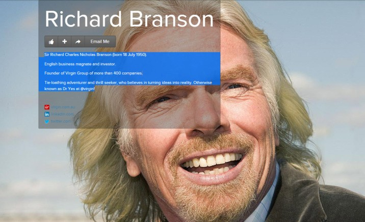 Richard Branson About.me