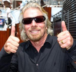 Richard Branson Rock Star