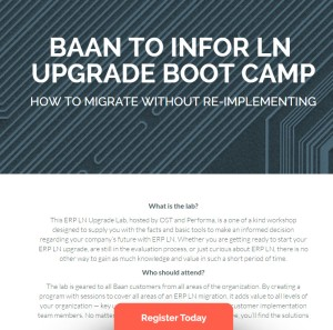 Baan to LN upgrade